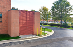 How a Gate Pairs Seamlessly Alongside Your Property's Louvers